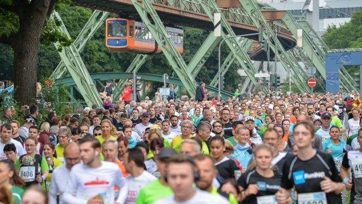 Schwebebahnlauf – Wuppertal